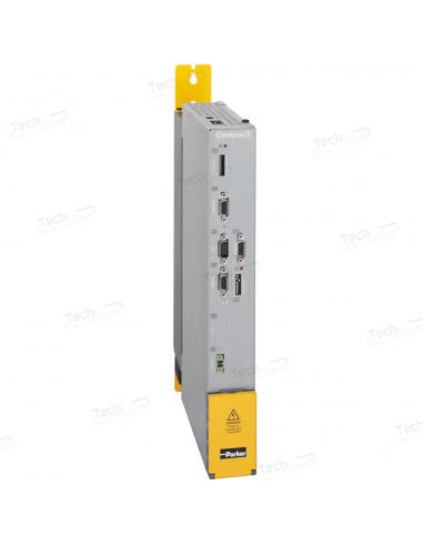Servovariateur série Compax 3 - 15 A  / 680 Vdc Extension 12 E/S digitales + Bus Motion HEDAOption STO